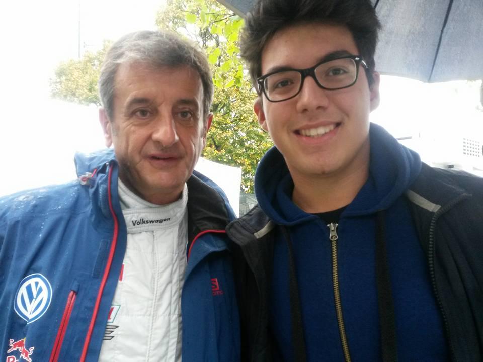 Stefano Pistoresi insieme a Luis Moya